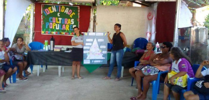 Palestra socioeducativa no Serviço de convivência e fortalecimento de vínculos-SCFV Dos idosos do CRAS Inhangapi