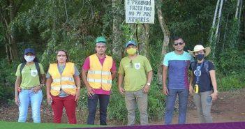 A Prefeitura de Inhangapi junto com a Secretaria de Meio Ambiente, no dia 27, recebeu o treinamento de avaliação e manejo de árvores, ministrado pelo técnico José Alessandro